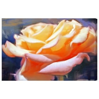 Oliver Gal 'Blush Rose' Canvas Art