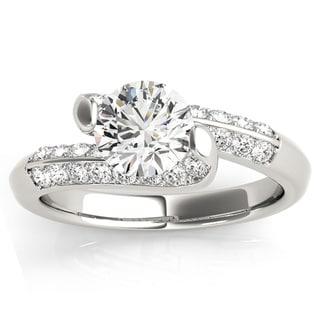Transcendent Brilliance Eternal Multirow Diamond Engagement Ring 14k Gold 1 1/4 TDW