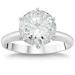 14k White Gold 3ct TDW Clarity Enhanced Round Diamond Solitaire Engagement Ring|https://ak1.ostkcdn.com/images/products/14832279/P21348089.jpg?impolicy=medium