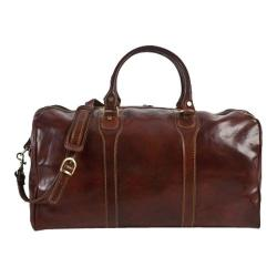 Alberto Bellucci Amato Duffel Bag Brown