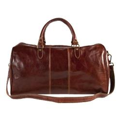 Alberto Bellucci Verona Duffel Bag Dark Brown