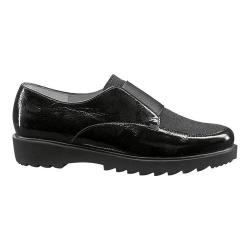 Women's ara Mindy 41503 Slip-On Black Crinkle Patent/Pin Dot (More options available)