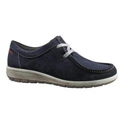 Women's ara Trista 49806 Moc Toe Sneaker Navy Suede