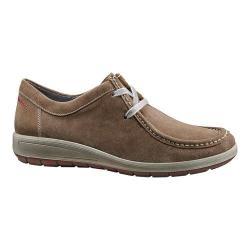 Women's ara Trista 49806 Moc Toe Sneaker Taupe Suede