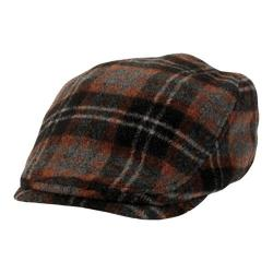 Women's San Diego Hat Company Driver Flat Cap CTH8049 Brown