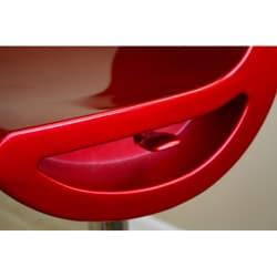 Urban Red Barstool (Set of 2)