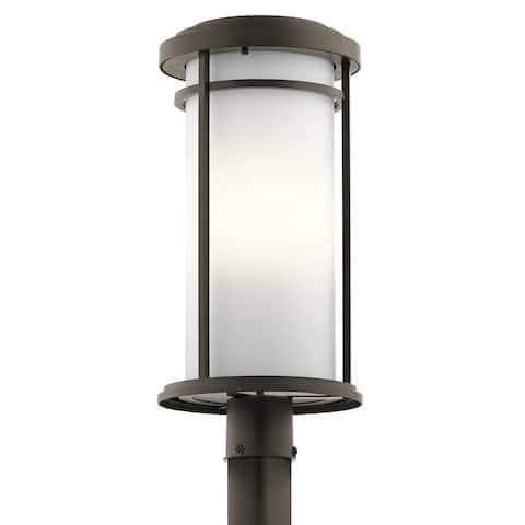 Kichler Lighting Toman Collection 1-light Olde Bronze Outdoor LED Post Mount