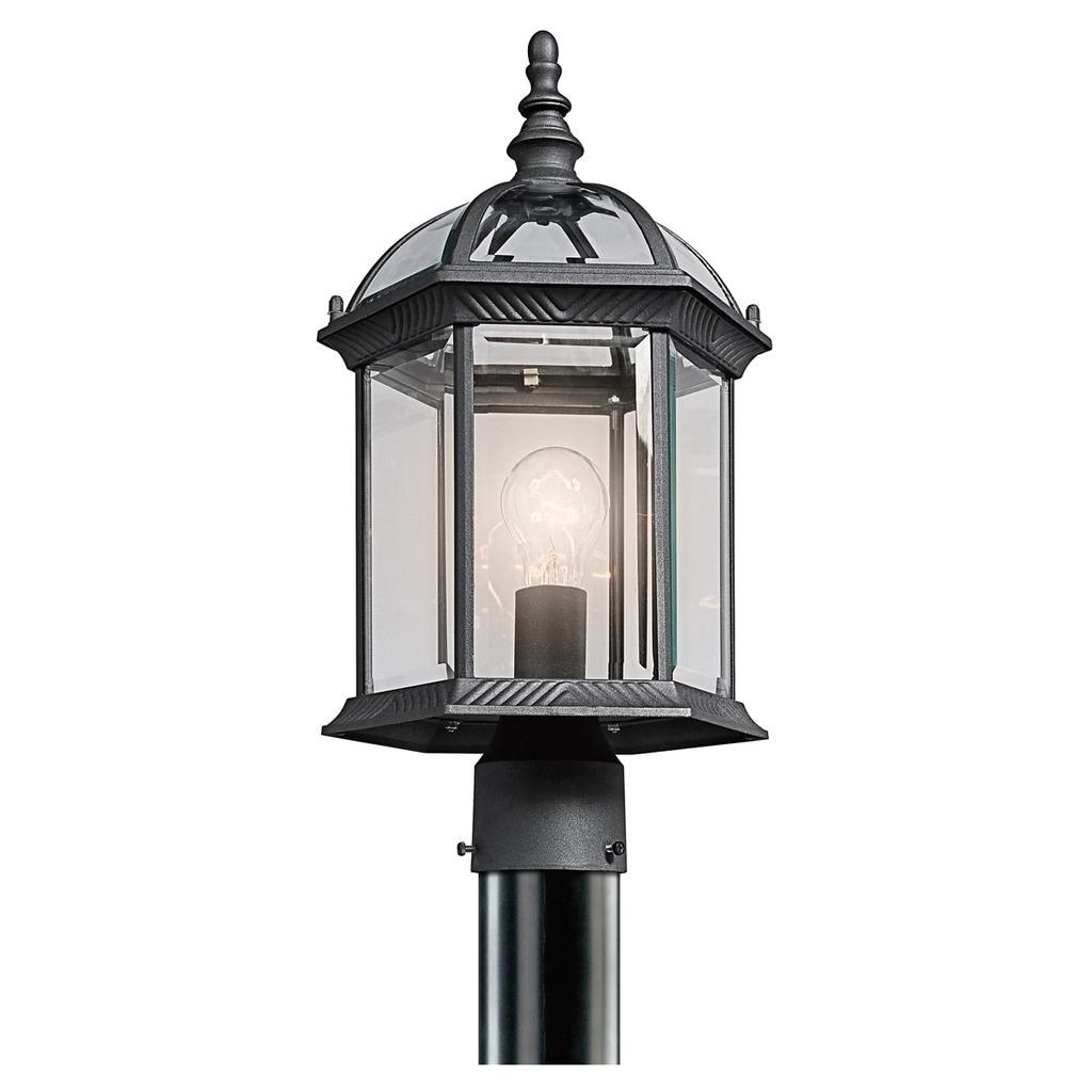 Copper Grove Mor 1-light Black Outdoor LED Post Mount
