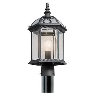 Copper Grove Mor 1-light Black Outdoor LED Post Mount - Thumbnail 0