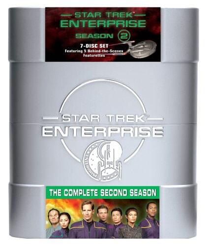 Star Trek: Enterprise The Complete Second Season (DVD)