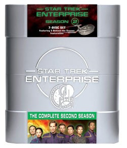 Star Trek: Enterprise The Complete Second Season (DVD)