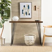 Remington Natural Wood Live Edge Console Table by Christopher Knight Home