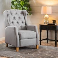 Grantham Fabric Tufted Recliner Club Chair by Christopher Knight Home