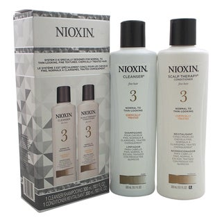 Nioxin System 3 10.1-ounce Cleanser & Scalp Therapy Conditioner Duo