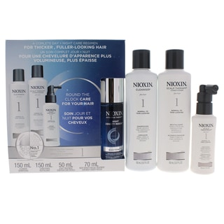 Nioxin System 1 Normal to Thin-Looking for Fine Hair 4-piece
