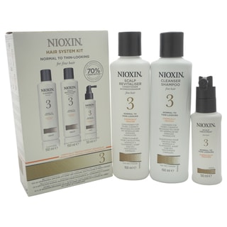 Nioxin System 3 Normal To Thin-Looking for Fine Hair 3-piece Kit