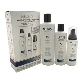 Nioxin System 6 for Medium To Coarse Hair 3-piece Kit
