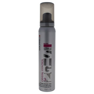 Goldwell Style Sign 3 Gloss Crystal Control Hi-Shine 4.16-ounce Mousse Wax