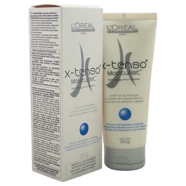 l oreal x tenso moisturist instructions
