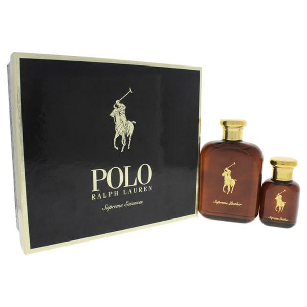 f8483302bf4e Shop Ralph Lauren Polo Supreme Leather Men s 2-piece Gift Set - Free ...