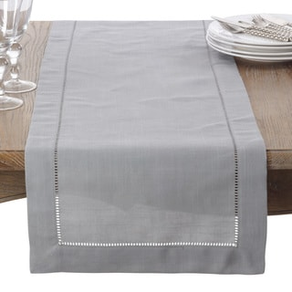 Classic Hemstitched Design Border Table Runner