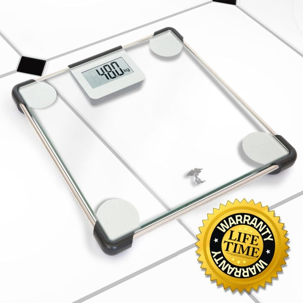 Taylor Glass and Chrome Digital Scale 7506 Free Shipping New