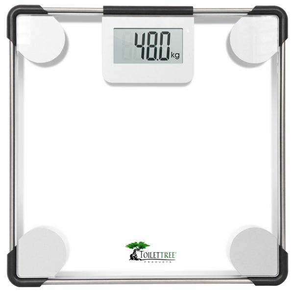 ToiletTree Clear Glass Precision Digital Bathroom Scale. Opens flyout.
