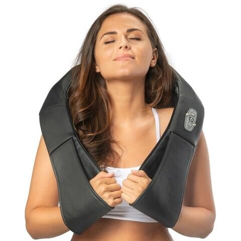Belmint Shiatsu Neck Massager & Shoulder Massager with Heat