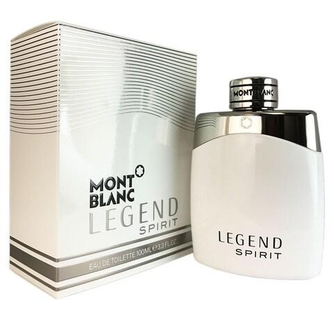 Mont Blanc Legend Spirit Men's 3.3-ounce Eau de Toilette Spray