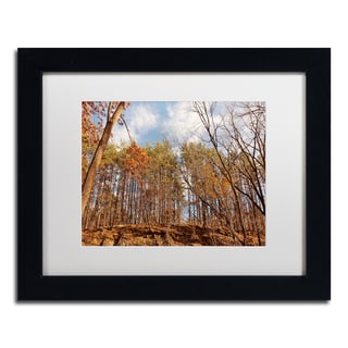Jason Shaffer 'Beaver Creek 8' Matted Framed Art