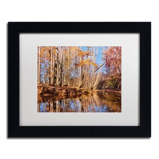 Jason Shaffer 'Beaver Creek 7' Matted Framed Art