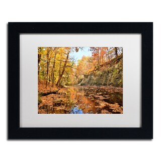 Jason Shaffer 'Beaver Creek 2' Matted Framed Art