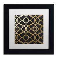 Color Bakery 'Moroccan Gold IV' Matted Framed Art