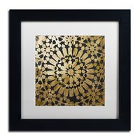 Color Bakery 'Moroccan Gold III' Matted Framed Art