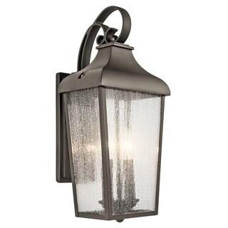Kichler Lighting Forestdale Collection 2-light Olde Bronze Outdoor Wall Lantern