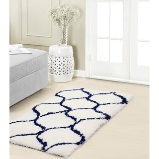 Vista Living Alfred Chunky Shag Accent Rug - (24 x 36 in.)