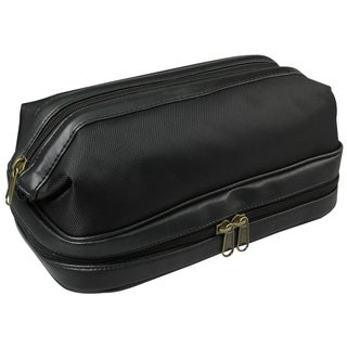 Dopp Black Super Travel Toiletry Bag