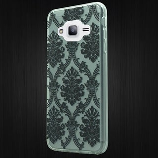 Samsung Grand Prime Crystal 3D Dream Catcher Plastic/PU Leather Case