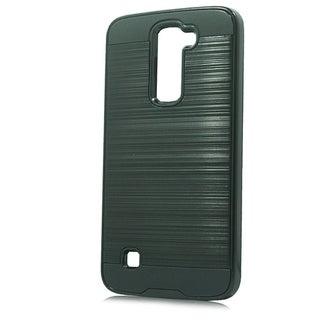LG K3 LS450 Silver Brushed Case