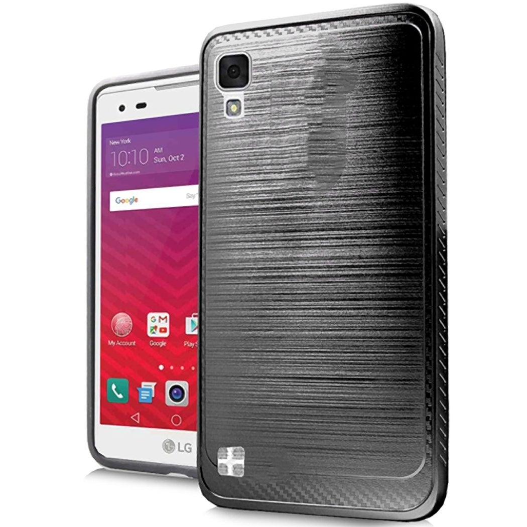 Huawei Ascend XT H1611 Silver XL Brushed Case (Purple) #P...
