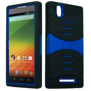 ZTE Imperial Max Z963 Neon Green XL Armor Case with Stand