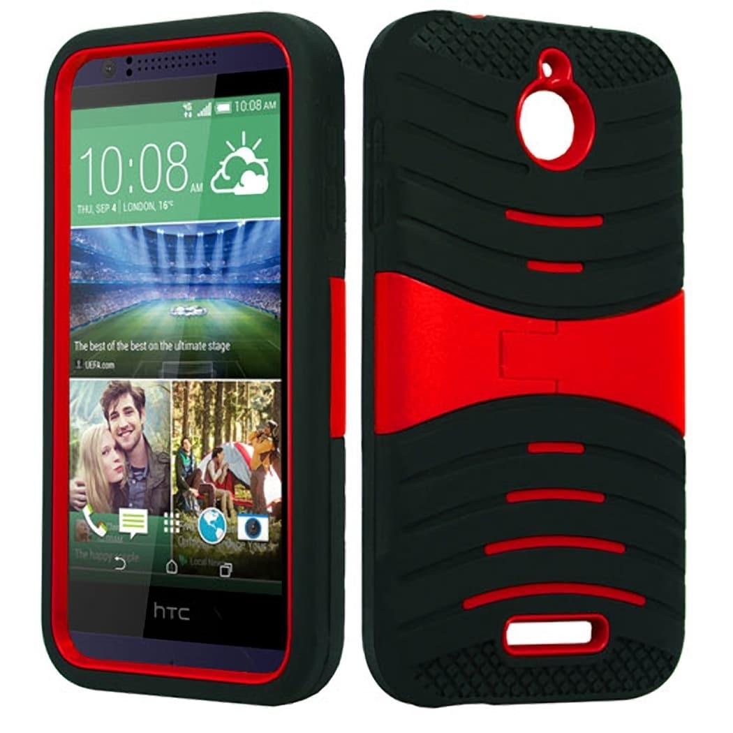 HTC Bolt EVO TPU/PU Armor Case (Grey) #P-AMSN-HTCDES510