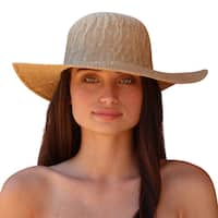 Palms & Sand Women's Moorea Large Brim Sun Hat