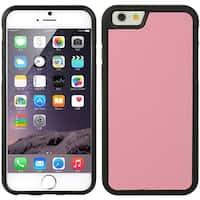 Apple Iphone 6 Plus/6S Plus Black/Pink TPU Hybrid Case
