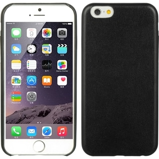 iPhone 6 Elite Series Minim Black Leather Case