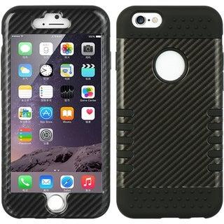Apple iPhone 6/6S Skin Black 4.7-inch 3-piece Hybrid Case Set