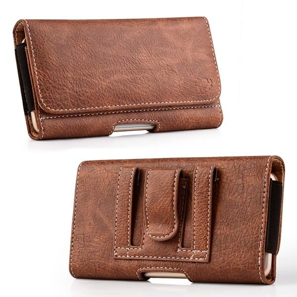 c17841672f3c Shop No.23 Mega 6.3/LG G Flex/ZTE Max Universal Leather Pouch - Free ...