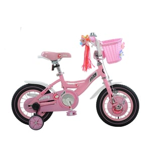 Stitch Bunny Girl's Bike, Pink/White