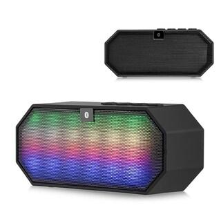 Bluetooth LED Mini Disco Block Compact Portable Speaker