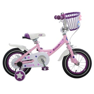 Stitch Angel Girl's Bike, Pink